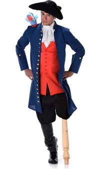 Long John Silver Pirate Adult Costume