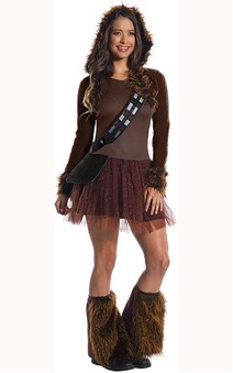 Chewbacca Womens Star Wars Costume