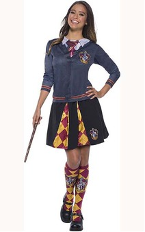 Gryffindor Adult Harry Potter Adult Costume Top