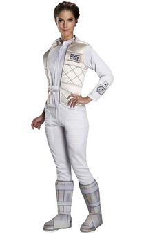 Star Wars Princess Leia Hoth Adult Costume
