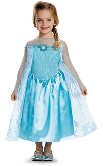 Queen Elsa Frozen Child & Toddler Costume