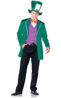 Mad Hatter Tea Party Host Adult Costume