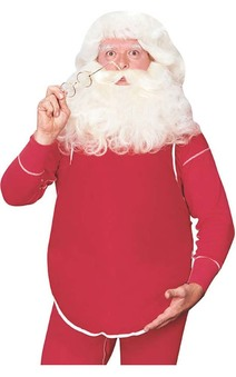 Santa Claus Christmas Stuffed Belly Accessory