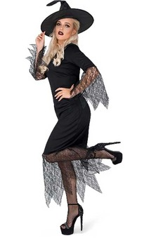 Bewitched Adult Wicked Witch Costume
