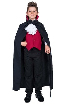 Dracula Boy Child Vampire Costume