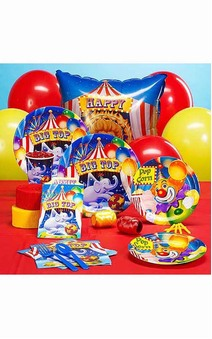 Circus Big Top 8 Person Party Pack