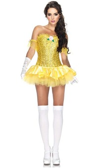 Belle Beauty & the Beast Sexy Princess Adult Costume