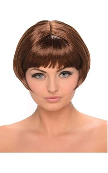 Brown Bob Adult Wig