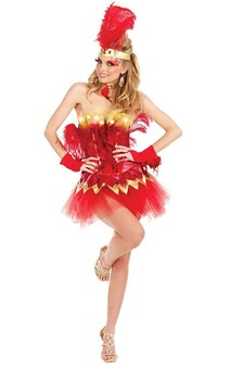 Burlesque Showgirl Adult Costume