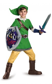 Deluxe Link Legend Of Zelda Child Costume