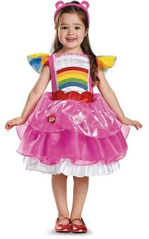 Deluxe Cheer Care Bear Toddler & Child Costume