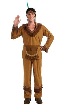 Native American Indian Male Adult Costume