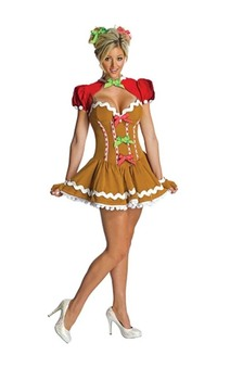 Ginger Bread Adult Christmas Costume