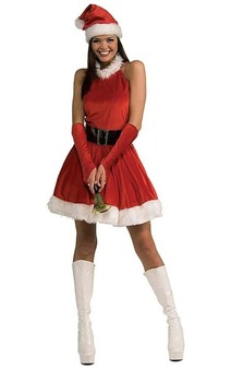 Santa's Inspiration Adult Christmas Costume