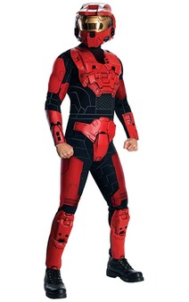 Deluxe Red Spartan Halo Adult Costume
