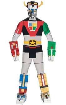 Deluxe Voltron Adult Mens Costume