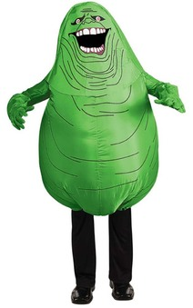 Inflatable Slimer Ghostbusters Adult Costume