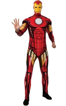 Deluxe Iron Man Avengers Adult Costume