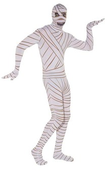 Mummy Second 2nd Skin Adult Costume