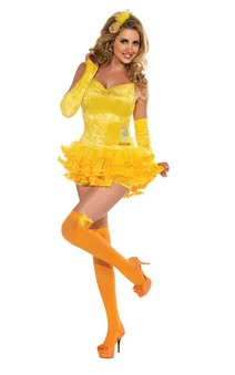 Adult Womens Looney Tunes Sexy Tweety bird Costume