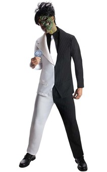 Harvey Dent Two Face Adult Batman Costume