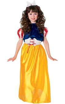 Snow White Story Book Princess Child Costume