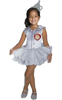 Tin Man Tutu Child Toddler Wizard Of Oz Costume