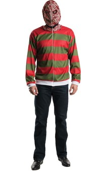 Freddy Krueger Adult Hoodie Nightmare On Elm St