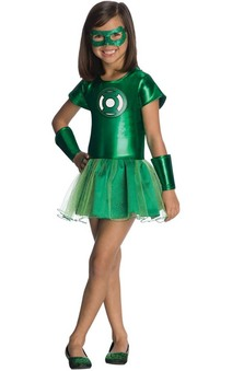 Green Lantern Tutu Child Toddler Super Hero Costume