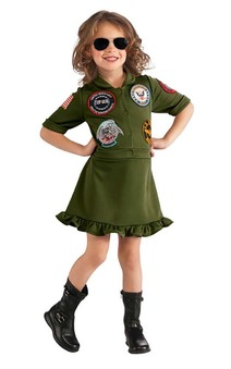 Top Gun Girl Fighter Pilot Costume