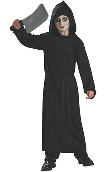 Black Horror Robe Child Costume