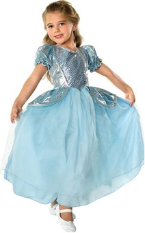 Cinderella Princess Toddler Child Fairytale Costume