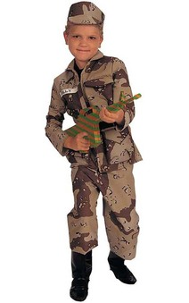Special Forces Child Army Costume