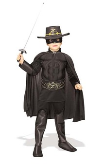 Zorro Deluxe Child Costume