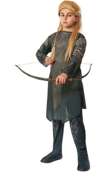 Legolas Lord Of The Rings Child The Hobbit Costume