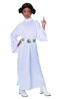 Princess Leia Deluxe Star Wars Child Costume