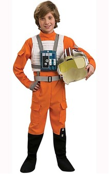 X Wing Pilot Star Wars Child Costume