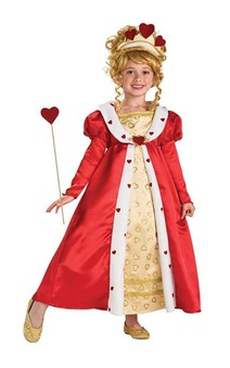 Queen of Hearts Royal Princess Child Costume