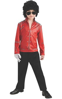 Beat It Red Michael Jackson Child Jacket