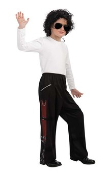 Michael Jackson Bad Buckle Pants Child Costume