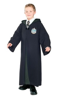 Slytherin Deluxe Robe Harry Potter Child Costume