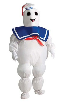 Inflatable Ghostbusters Stay Puft Child Marshmallow Man Costume