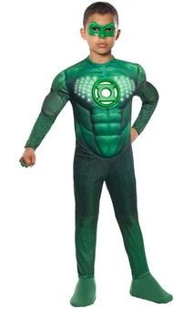 Hal Jordan Green Lantern Child Costume