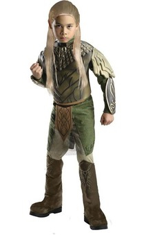 Deluxe Legolas The Hobbit Child Greenleaf Costume