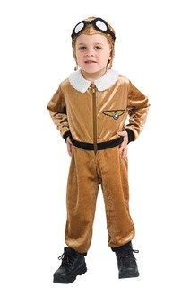 Aviator Infant Costume