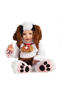 St Bernard Animal Child Costume