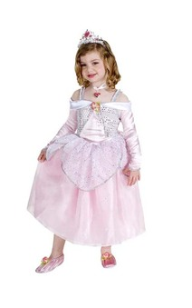Aurora Sleeping Beauty Dress Child Costume