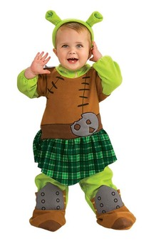 Shrek Fiona Princess Infant Child Costume