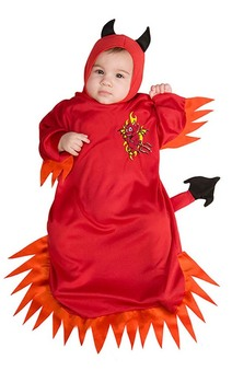 The Little Devil Baby Costume
