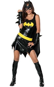 Batman Batgirl Teen Costume